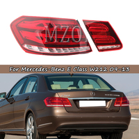 MZORANGE Tail Light For Mercedes Benz E Class W212 2009 2013 Take brake light Outer tail lamp taillights Car Light Assembly