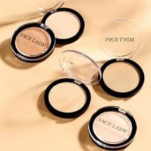 Pressed-Powder Silky Blush Oil-Control Natural-Makeup-Tools Facial-Pores Pearlescent