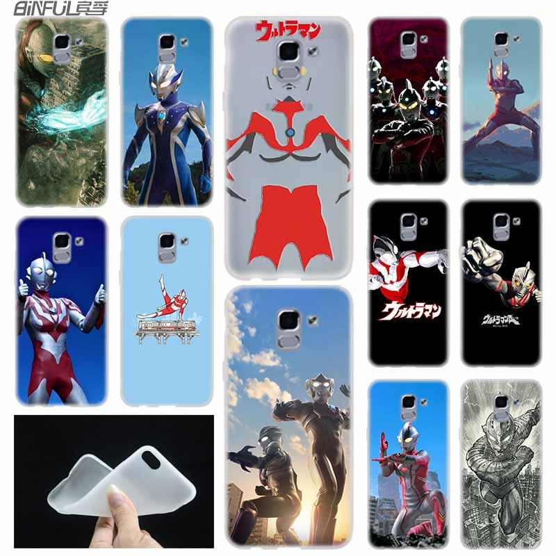 Мягкий чехол из ТПУ чехол для samsung Galaxy J6 J8 J5 J7 J4 Core Plus 2018 2016 2017 ЕС премьер-профессионал Ace Ultraman