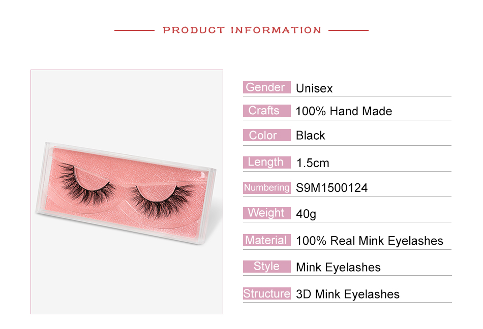 SEXYSHEEP Mink Eyelashes Natural 100% Mink Lashes Handmade Volume Soft eyelashes bulk mink lashes wholesale 3D False Lashes