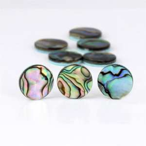 Trumpet Parts-Accessories Abalone-Shell Musical-Instruments Finger-Buttons for Valve-Cap