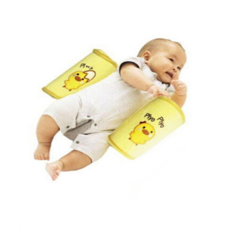 Baby Pillows Anti Roll Pillow Sleep Head Positioner Anti-rollover For Infant Newborn Bedding Supplies