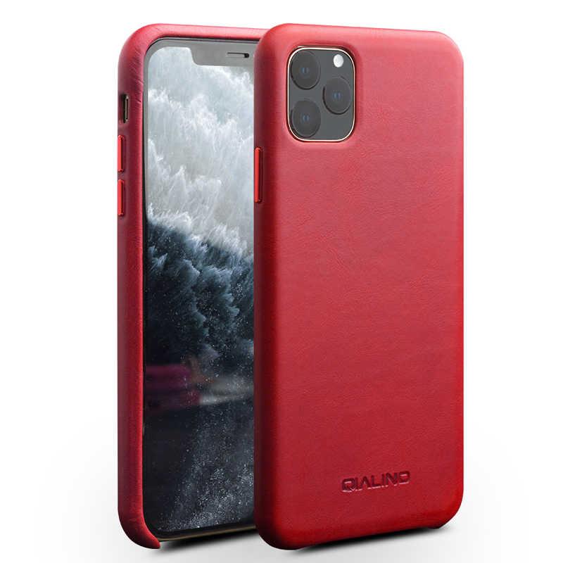 Cho IPhone11 Công Sở Da Thật Chính Hãng Da Ốp Lưng iPhone X XR Retro Da Bò Bao Da Điện Thoại Mỏng Trong Cho iPhone 11 Pro Max