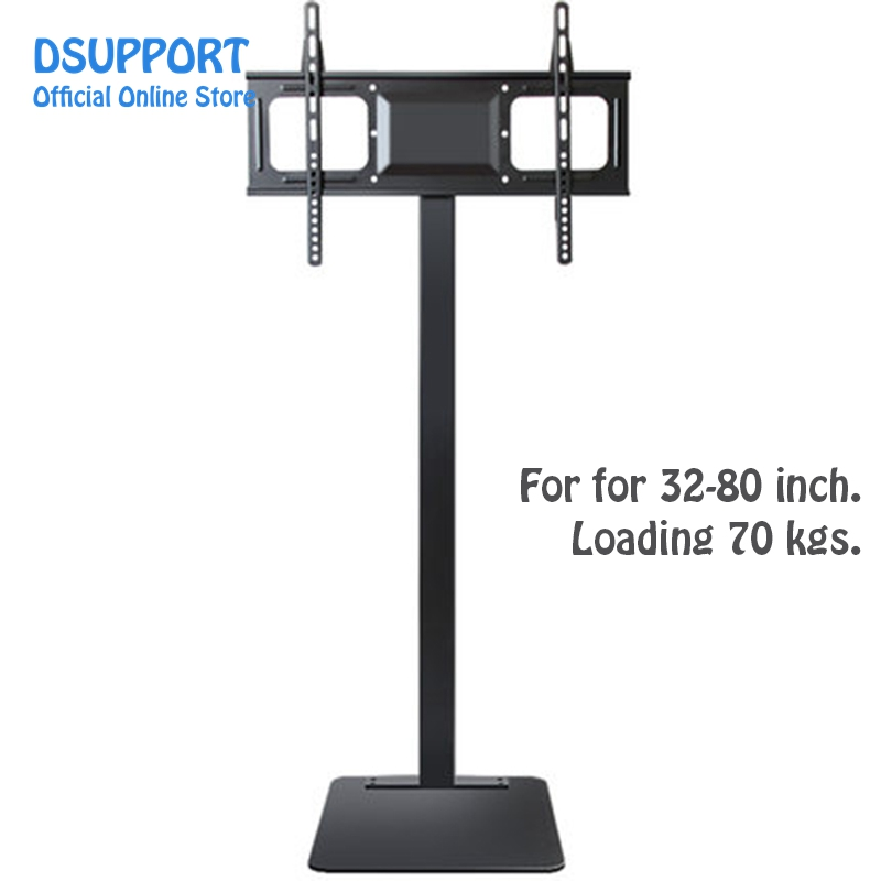 32 80 Inch Lcd Led Plasma Monitor Tv Mount Floor Stand Tilt Swivel Ad Display Wire Management Height Ajustable Floor Stand Floor Stand Mountfloor Mounted Aliexpress