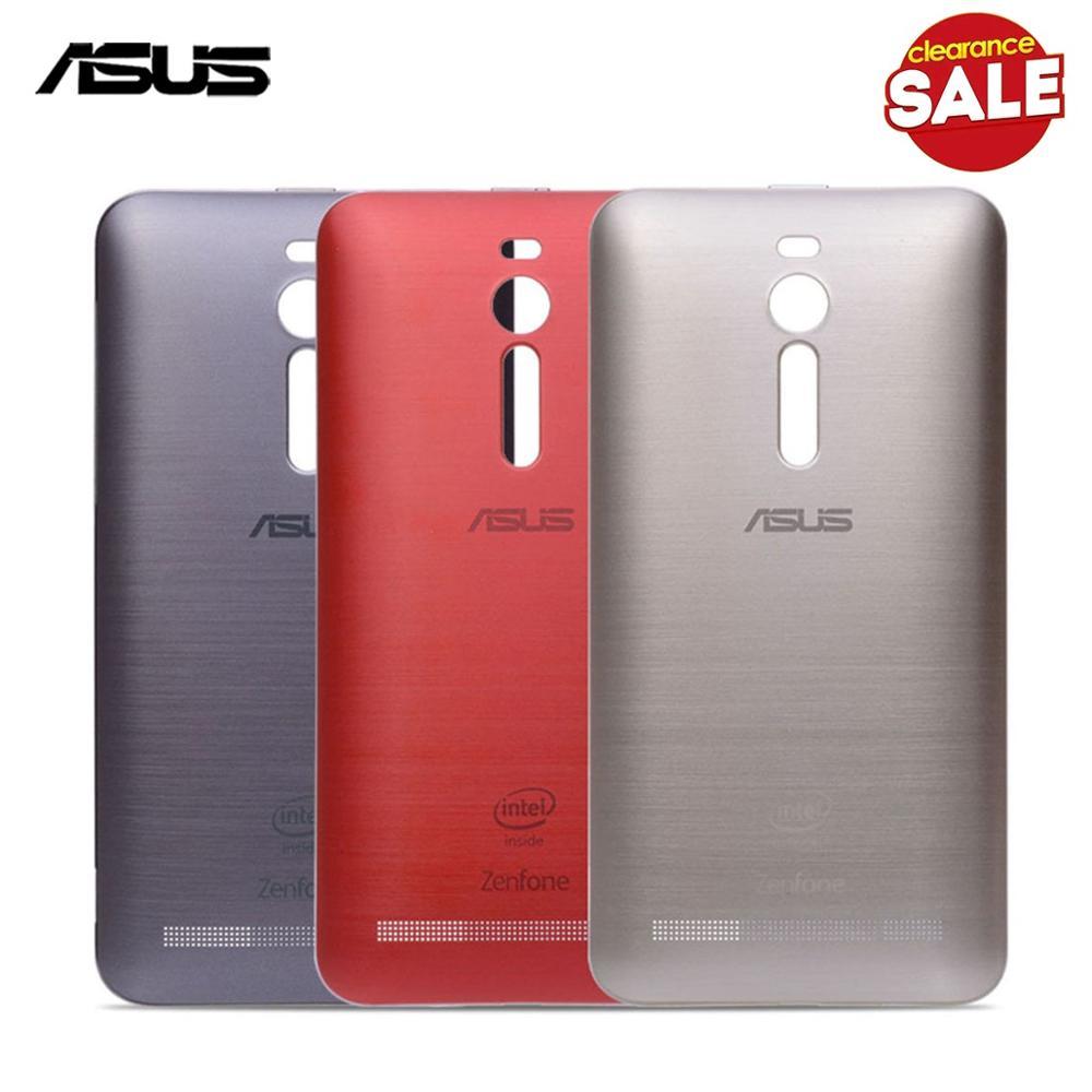 Original  Back Housing For ASUS Zenfone 2 ZE550ML ZE551ML Back Cover Battery Door Power Button Z00AD Z008D Replacement Parts