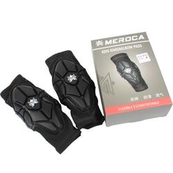 MEROCA Balance Bike Skating Protective Gear Set Elbow Pads Sliding Bicycle Skateboard Ice Skate Roller Knee Protector
