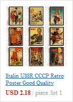H7478a49d62b64ee5a6441551bb2f8327T Stalin USSR CCCP Retro Poster Good Quality Printed Wall Retro Posters For Home Bar Cafe Room Wall sticker