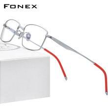 Fonex Оправа для очков Мужская из чистого титана 2020