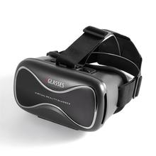 Portable VRD3 Virtual Reality Glasses Helmet MY VR Box Realistic 3D Glasses Headset Cardboard For Most Smartphones(China)