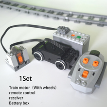 Technical-Parts Train-Motor Multi-Power Servo-Blocks Functions-Tool Leduo for Engine