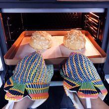 Перчатки ovenwant для духовки с принтом свиньи рыбы Длинные