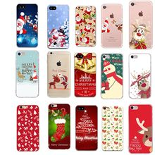 Case For Iphone 6 S Merry Christmas Cases phone case For iphone Xs MAX XR X 6 6s 7 8 plus Lovely Dumbo Candy soft TPU back cover(China)