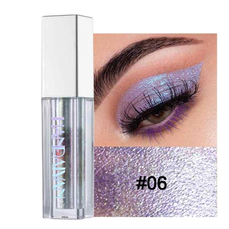 Handaiyan Vloeibare Oogschaduw Palet Waterdicht Langdurige Metallic Diamond Pigmenten Glitter Shimmer Oogschaduw Maquiagem TSLM2