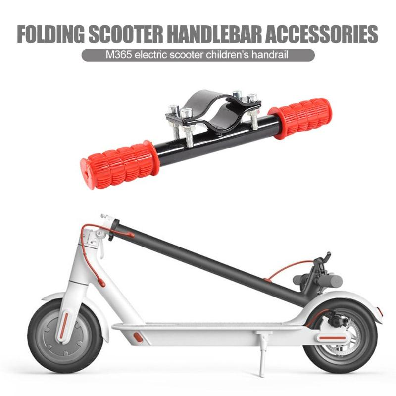 Kid Grips Child Handle For Xiaomi M365 Scooter Bicycle Armrests Children Armrest Mountain Bike Folding Cart Rear Seat