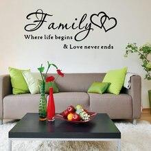 Diy семья где начинается жизнь любовь никогда не концы слова
