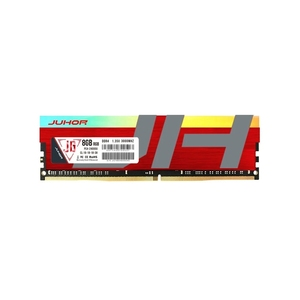 JUHOR DDR4 8GB 3000MHz 1,35 V Escritorio PC banco de memoria PC memoria RAM bajo consumo de energía amplia compatibilidad con luces RGB