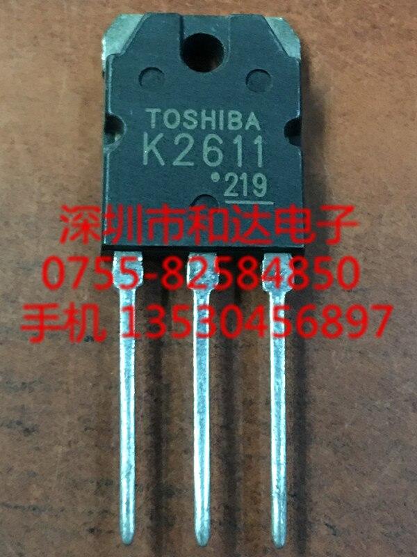 5PCS 2SK2611 K2611 Transistors TOSHIBA TO-3P
