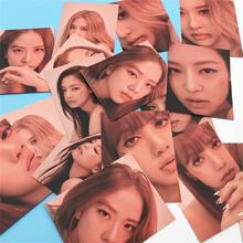 Kpop Blackpink Paper Photo Cards Jennie Jisoo Kill This Love Concert HD Photocard Lisa Rose Collective Puzzle Cards 16pcs Poster