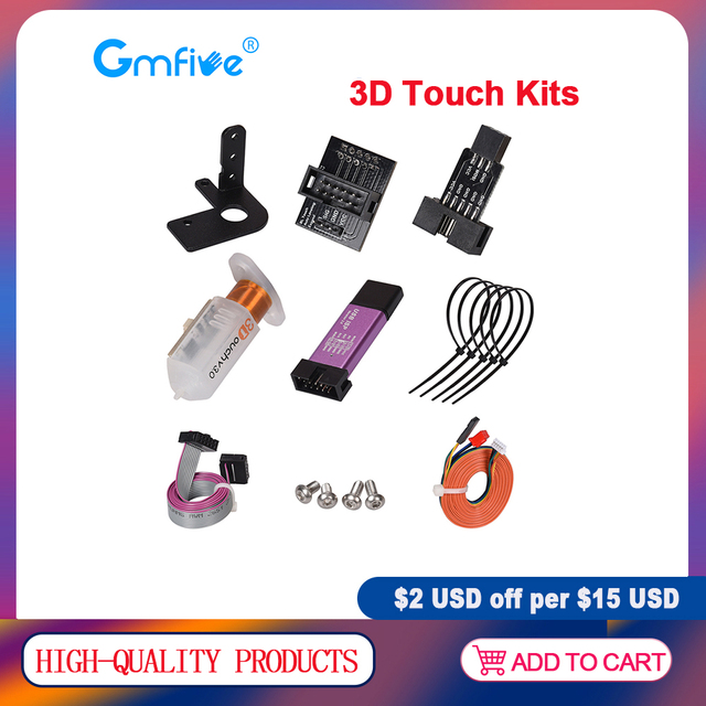 Gmfive 3DタッチV3.0自動ベッドオートレベリングセンサーキットblオートタッチスクリーンためクローナV1.4エンダー3プロanet A8 MK3 I3 reprap 3Dプリンタ部品