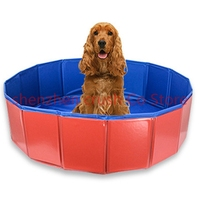 5pcs Pet Bathtub Large Pet Products non slip Bath Tub for Dog and Cat not bend over with high Stainless steel legs Easy install
