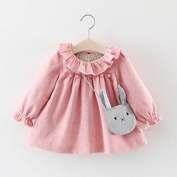 Menoea baby Autumn Toddler Baby Girl Dress Kids Girls Plaid Strawberry Patchwork Casual Kids Dress Newborn Infant Baby Dress menoea baby outerwear