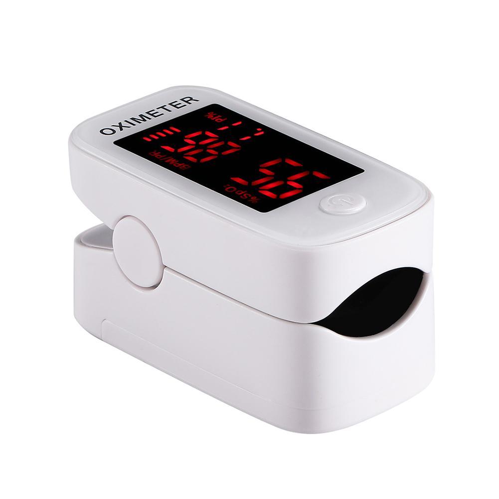 Digital Finger Pulse Oximeter LED Oximetro Blood Oxygen Saturation Heart Rate Monitor Portable SPO2 PR PI Finger Pulse Oximeter