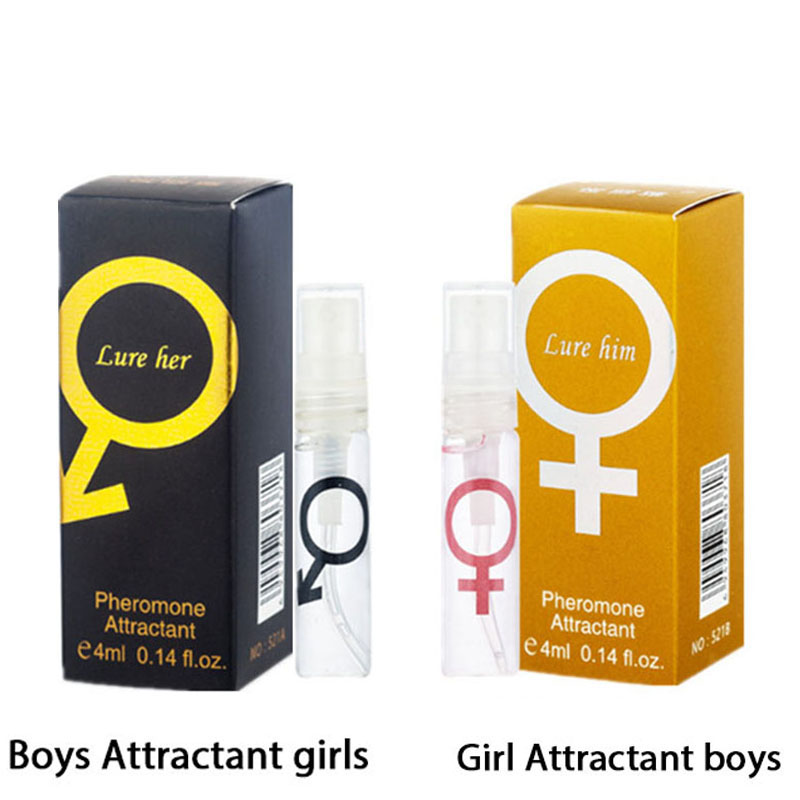 4mlL Essential Oil Perfume Pheromone Aphrodisiac Woman Orgasm Body Spray Flirt Attract Girl Scented Water For Men Lubricants