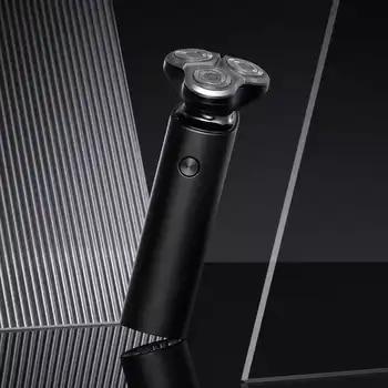 Xiaomi Mijia Electric Shaver Men Razor Beard Trimmer 3 Head Flex Dry Wet Washable Main-Sub Dual Blade Turbo+ Mode Shaving Razor