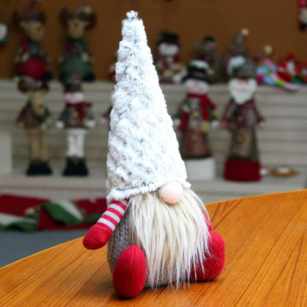 Kerst Pop Speelgoed Kerstman Kerstboom Opknoping Ornament Decoratie Voor Thuis Xmas Party Gnome Dwerg Navidad Christma Gift