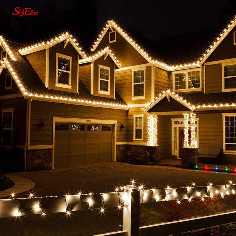 1.5/3/6 メートルの妖精カーテン LED ストリングライトクリスマスライト花輪ウェディングパーティークリスマスガーデンパーティーカーテン装飾 7z