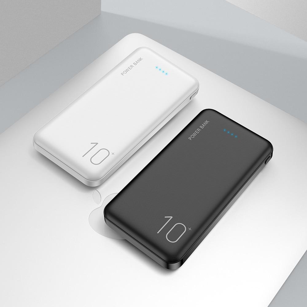 FLOVEME Power Bank 10000mAh Portable Charger For Samsung Xiaomi mi Mobile External Battery Powerbank 10000 mAh Poverbank Phone 6