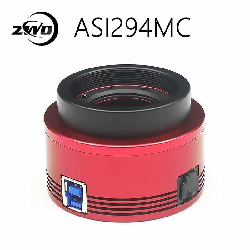 Цветная астрономическая камера ZWO ASI294MC Pro, с охлаждением, ASI, с глубоким небом, визуализация (256 Мб DDRIII буфер), высокоскоростная USB3.0 ASI294 MC Pro ASI294