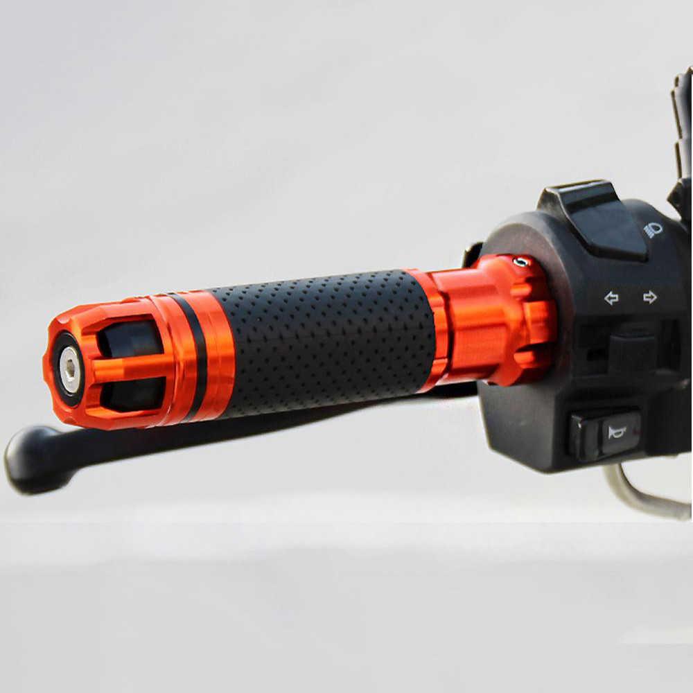 Universal 22 24mm cnc motocicleta lidar com barra apertos guiador termina para yamaha fjr1300 fz1 fazer yzf r 3 25 6 600r fzr 600 fz600