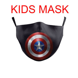Superman-Spiderman cráneo de Tigre, Cosplay de Navidad, niñas, niños, mascarillas para la boca, deportes de calle, lavable, a prueba de polvo