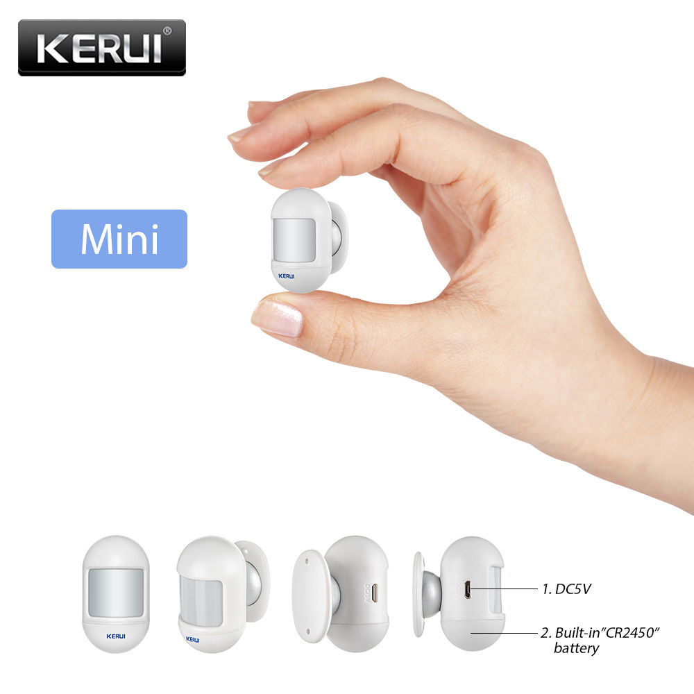 KERUI P831 Wireless Mini Movable Angle Home Security Burglar PIR Infrared Motion Detector Compatible With KERUI Alarm System