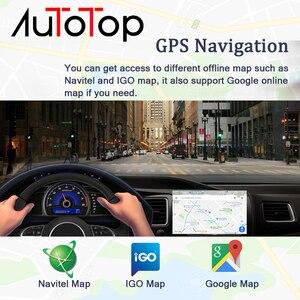 "Image 4 - AUTOTOP 7"" 2 Din Android 10.0 Multimedia Player for Outlander Lancer ASX 2012 2018 Car Radio Head Unit GPS Navigation Mirrorlink"