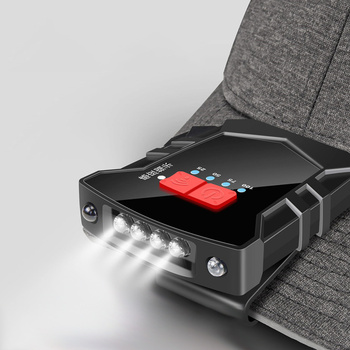 Super Φωτεινός Προβολέας Κεφαλής LED Με Κλιπ Στήριξης USB Επαναφόρτιση Σπίτι - Γραφείο - Επαγγελματικά Φακοί MSOW