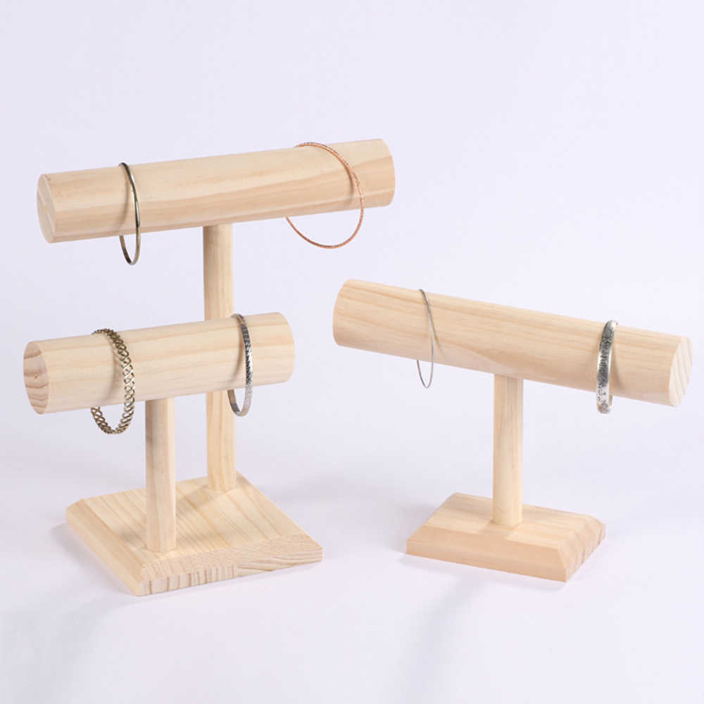 Free Shipping Diy Wood Display T Bar Watch Bracelet Jewelry Display Stand Holder Women Bracelet Necklace Jewelry Display Stand Aliexpress