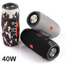 Haut parleur Bluetooth haute puissance 40W étanche colonne Portable Super basse stéréo pour haut parleurs dordinateur avec Radio FM BT AUX TF