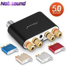 Nobsound NS 10G TPA3116 Bluetooth 5.0 Mini 50W * 2 wzmacniacz cyfrowy Stereo Hi Fi wzmacniacz mocy 5 kolorów