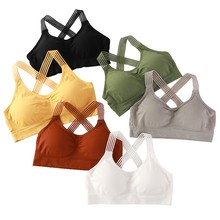 Sports Underwear Brathable Sports Top Female Gym Fitness Sea