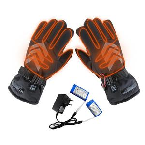 Image 1 - Winter Hand Warmer Electric Thermal Gloves Rechargeable Battery Heated Gloves Cycling Motorcycle Bicycle Ski Gloves
