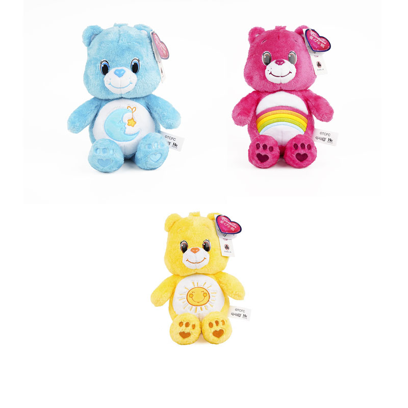 3pcs/lot Care Bears Plush Toys 30cm Lovely Care Bears Animals Plush Doll Toy Soft Stuffed Toys For Christmas Kids Gifts