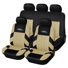 AUTOYOUTH Car Seat Covers Universal Fit Full Set Ca