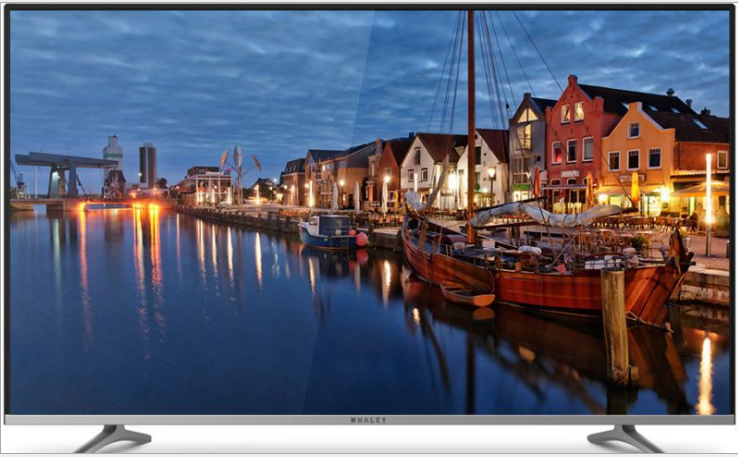 4k monitor screen display of 65 75 85 95 100 inch and IPTV and T2 TV led tv television TV image