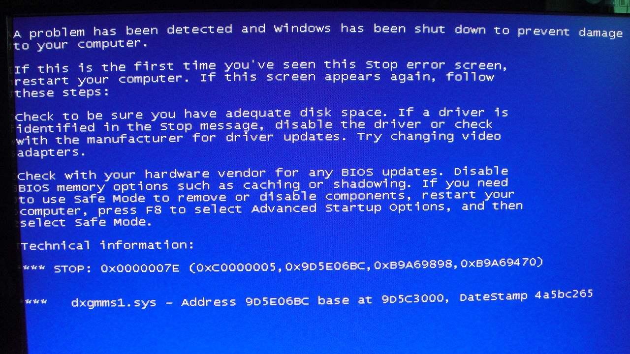 电脑蓝屏错误代码大全及解决办法合集