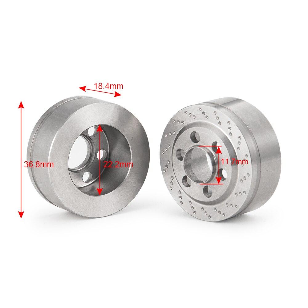 攀爬车-1.9英寸金属轮毂配重(不锈钢款)X1 (13)