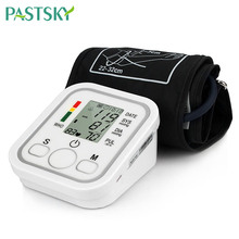 Electric Blood Pressure Monitor Tonometer Medical Equipment Arm Apparatus for Measuring Pressure Heart Beat Meter Machine