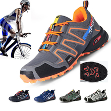 Bike Sneakers Bicycle-Shoes Mtb Camouflage Ultralight No-Locking Sapatilha-Ciclismo Women