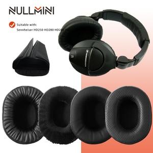 Image 1 - NullMini Replacement Earpads for Sennheiser HD280 HD280PRO HD281 Headphones Leather Sleeve Earphone Earmuff